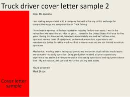 Examples Of Resumes For Truck Drivers by Truck Driver Cover Letter