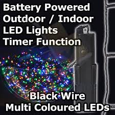 battery operated lights with timer battery operated multi function outdoor led timer christmas lights