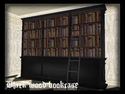 black bookcase blackburn storage bookcase with door and drawer