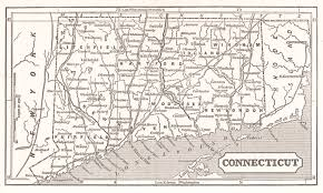 New London Ct Map Maps Antique United States Us States Connecticut