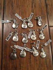 metal ganz snowman ornaments ebay