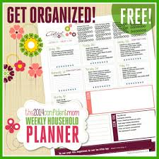 free printable mom planner 2015 free weekly household planner printable the confident mom