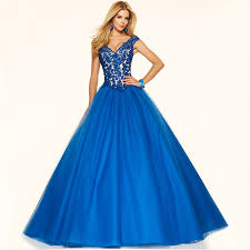 popular ball gown royal blue long sleeve prom dresses buy cheap in