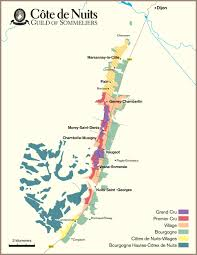 Map Of Burgundy France by France Burgundy Studyblue