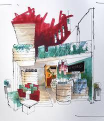 interior sketches u2013 forartis