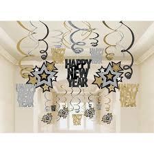 amscan rocking new year hanging swirl