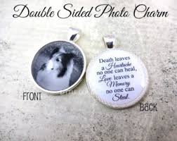 personalized memorial necklace pet memorial keychain forever in my heart custom photo key