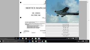 cessna 182 service maintenance manual set n engine 1956 1968