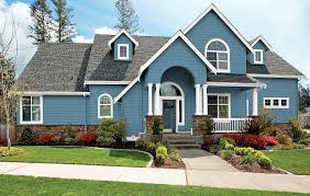 look to your house surrounded by a green lawn and attractive shrubbery it reflects the ability of the residents to produce a home with a well designed