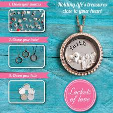 charm locket necklace charms images Lockets of love charm locket necklace by lauryn james jpg