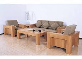 Wooden Sofa Sets For Living Room Wooden Sofa Furniture Design For Suitable With Modern Wooden