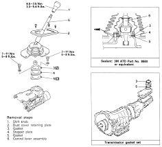 repair guides manual transmission gearshift lever assembly