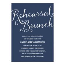 rehearsal brunch invitations announcements zazzle