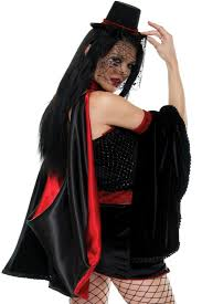 5 pc gothic glam vampire costume