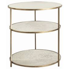 Brass Accent Table Table Winning Arteriors 2654 Fitz Accent Table In Antique Brass