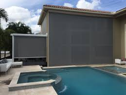 Motorized Screens For Patios Motorized Screens Magnatrack System Screens Progressive Screens