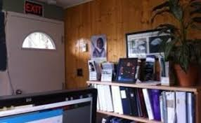 home office wall stripes with no tape hometalk