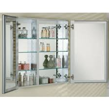 Inset Bathroom Mirror Furniture Awesome Bevelled Edge Mirror And - Awesome recessed bathroom medicine cabinet home
