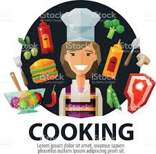 cooking vector logo design template fresh food kitchen or cook cooking vector logo design template fresh food kitchen or cook royalty free stock