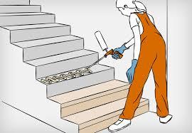 treppen laminat verlegen betontreppe attraktiv verkleiden infos und tipps