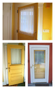 improved door window coverings housie pinterest window