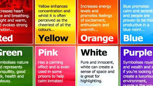 effect of color on mood colours and their effects on mood color effect on mood nice