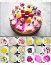 colorful fruity ice cream cake recipe chen u0027s blog