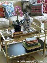 diy ikea coffee table makeover nifty thrifty farmhouse style