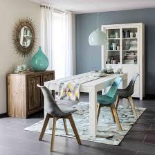 maison du monde coussin de sol chaise scandinave bleue salons dining room design and room