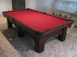 Red Felt Pool Table Your Local Pool Table Guy Inc