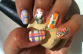 Easter Nail Decorations by 30 Easter Nail Art Designs U0026 Ideas 2017 Modern Fashion Blog
