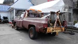 Old Ford Trucks Pictures - rough gmc tow truck at old garage youtube