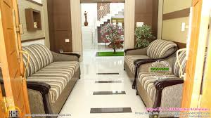 house completed with interior design photographs kerala home