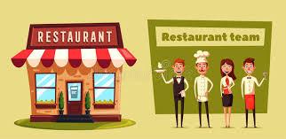 colmar cuisine cr饌tion restaurant team vector illustration stock vector