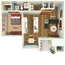 1 Bed 1 Bath Apartment Springwoods At Lake Ridge Apartment Homes Woodbridge Va Floor