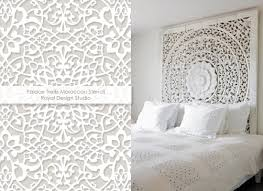 Trellis Wall Stencil White Haute Pattern Trends To Warm Up Your Winter Paint Pattern