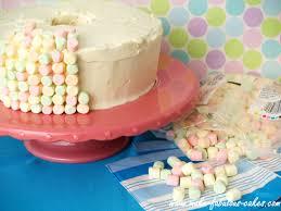 Angel Decorated Cake Heavenly Angel Food Cake Recipe