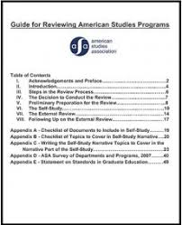 program paper guide for program review