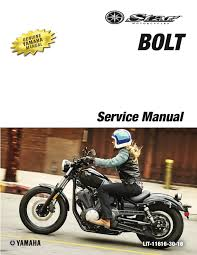 yamaha 2017 bolt xvs95ch workshop service manual