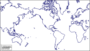 outline of world map world america centered free maps free blank maps free outline