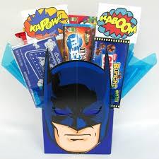 Candy Gift Basket Kids Batman Candy Gift Basket Aagiftsandbaskets Com