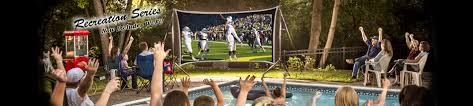 backyard theater outdoor theater systems portable home