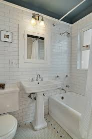 Subway Tile Bathroom Ideas by Cool White Subway Tile Bathroom For Your Home Interior Remodel