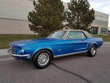 ford mustang 1968 coupe 1968 ford mustang coupe ebay