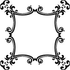 clipart decorative ornamental flourish frame aggrandized 10