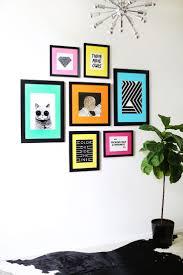 splendid metal picture frame wall art creative photo display wall