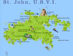 road map of st usvi st information cheapcaribbean