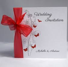 butterfly wedding invitations butterfly wedding invitation sidefold organza ribbon shell