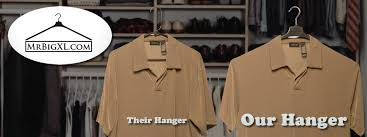 your source for large wide xl clothes hangers for xl xxl plus