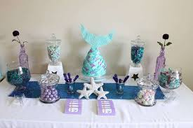 mermaid party ideas mermaid birthday party ideas photo 1 of 16 catch my party